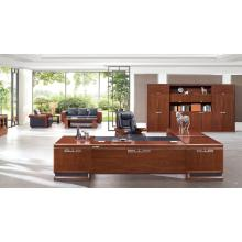 3200 mm 10FT Office Executive Suite Desk in Walnut