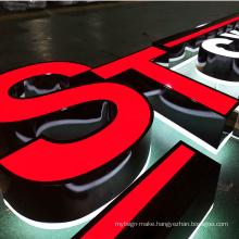 Led Backlit Letter Sign Outdoor Waterproof Backlight Acrylic Led Letter Box Sign