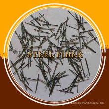 Stainless steel fiber melting steel additives for building