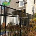 High quality zinc steel fence pvc coated fence