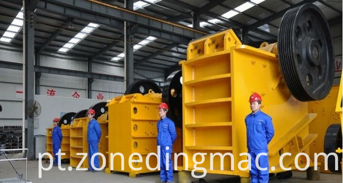jaw sand crusher