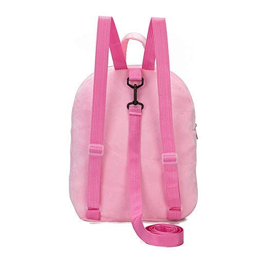 Cute Flamingo Plush Backpack 2