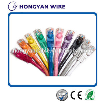 High quality rj45 patch cord utp cat5e cable with best price