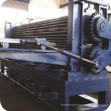 Cañón acanalado hojas embutición máquina corrugado que hace la máquina