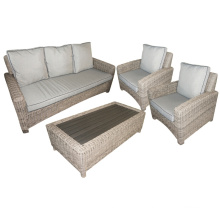Patio Rattan Wicker Lounge Garden Outdoor Furniture Sofa Set