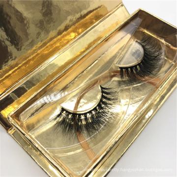 3D High Quality Mink Creme False Eyelash individual mink eyelashes