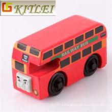Atacado Adverting Mini plástico ônibus crianças Crianças Brinquedos
