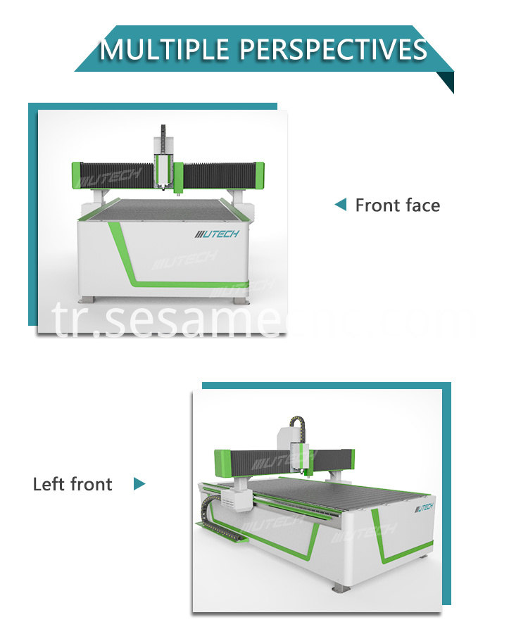cnc router machine for aluminum with CCD