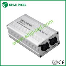 2 * 512 canales dmx ws2811 dmx led controlador manual