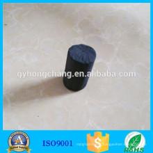 Bloc de charbon actif cylindrique de 2 cm de diamètre pour filtre