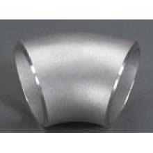 Jis B2311 sgp sin costura 45D L / R de acero al carbono codo de tubo
