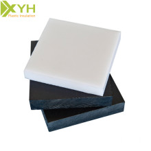 White and Black Pom Acetal C Plastic Sheet