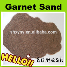 High hardness 80 mesh garnet sand for waterjet cutting
