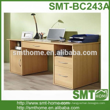 2017 big computer table for office MDF/particle board hot sale