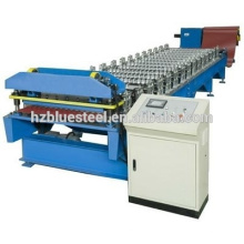 Africa Full Automatic Energy Saving Corrugated Water Wave Galvanized Steel Roll Forming Machine