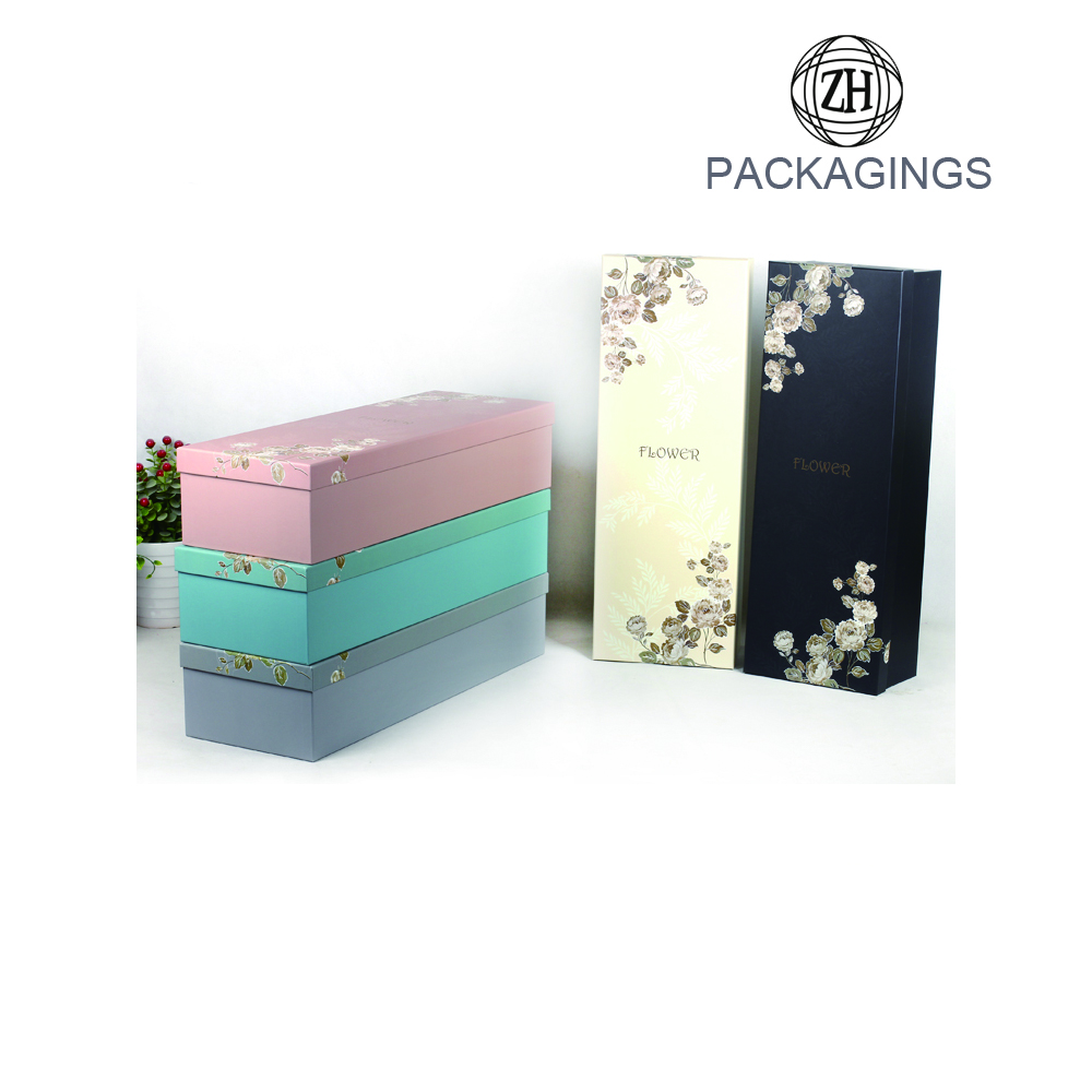 Rigid+cardboard+gift+flower+packaging+box