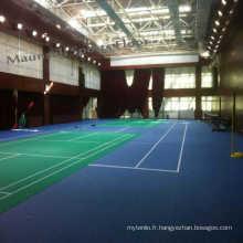 2017 Hote Sale Tennis Revêtement de sol en plastique avec motif herbeux