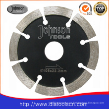Diamond Tuck Point Blade Cuchilla de corte para concreto, ladrillo, bloque, mampostería, piedra