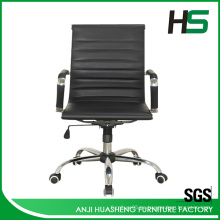 Venta caliente baja espalda negro silla de oficina H-P01-1M