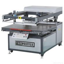 Tmp-90120 Auto oblíqua tipo braço máquina de impressão de tela de papel cartão plana