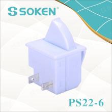 Interrupteur à bouton poussoir pour réfrigérateur