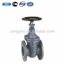 Стандартный DIN чугун dn100 pn10 задвижка металлическое седло без выдвижного штокового клапана