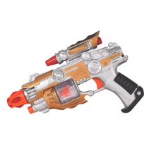 Plastic Kids Infrared Electric Voice Gun Toy (10247809)