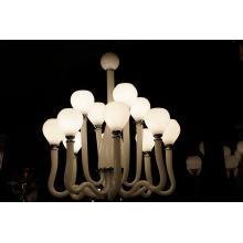 Modern Glass Pendant Lamp (KD9012-8+4)