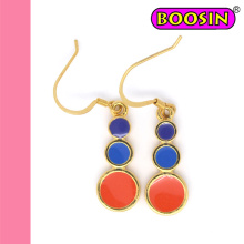 2016 Factory Direct Selling Red Drop Earrings Wholesale #22190