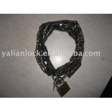 Iron chain padlock