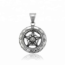 33373  xuping 2018  Unique design fashion Stainless Steel jewelry black gun color cool   pendant