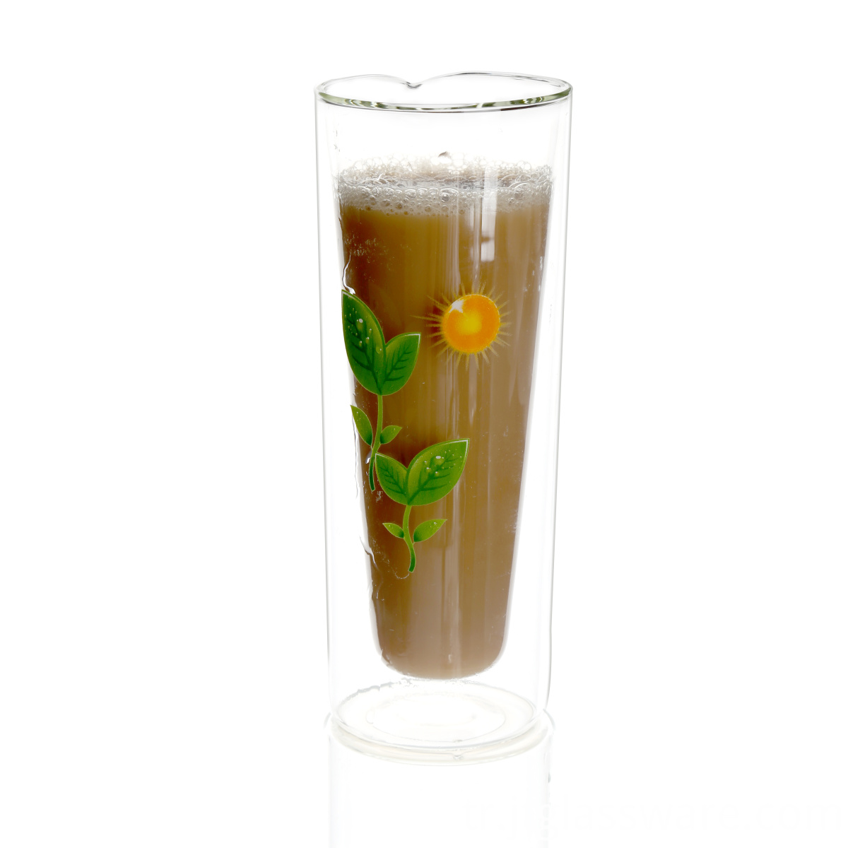 Loose Tea Glass Mug