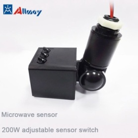 Outdoor Wall Lamp LED Security Microwave Motion Sensor