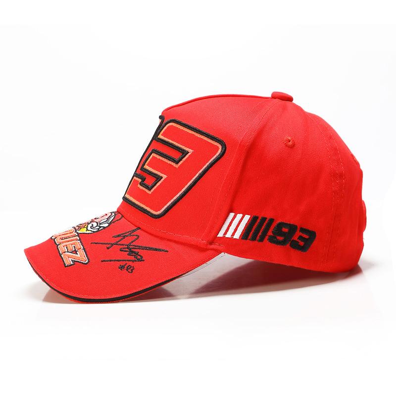 Embroidered hat racing hat baseball cap cap cap (5)