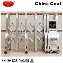 Fernsteuerungs-Edelstahl-automatische einziehbare Tür / Erweiterungstor / elektrische faltbare Tore
