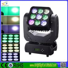 Bewegliche Kopfmatrix 9x12 4in1 rgbw Bühnenbeleuchtung