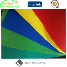 PU Coated 100% Polyester Oxford 600d Fabric for Tent