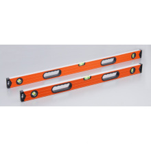 Aluminum Ribbed Spirit Level with Magnets