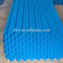 PVC llena el tipo de panal