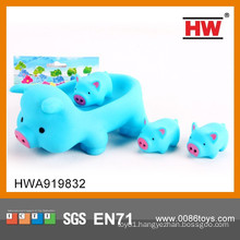 Wholesale Lovely Toys Cartoon Piggy Small Rubber Toys