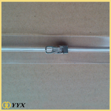 PVC zipper with metal slider for sale