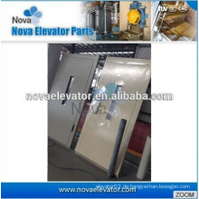 Gemusterter Aufzug Semi-Automatik / Manuelle Tür / Schaukel Tür für Haus Lift