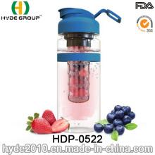 Garrafa plástica portátil popular da infusão da fruta, 32oz BPA livram a garrafa de água de Infuser do fruto de Tritan (HDP-0522)