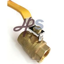 UL baixa válvula de bola Lockable de bronze da linha do NPT da ligação para o mercado dos EUA