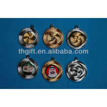 High quality round shape metal Commemorative coin with no colors