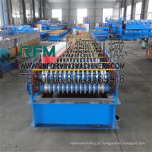 Fábrica de chapas de ferro ondulado de aço de alta velocidade FX que fabrica máquina ce stander