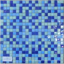 Vidrio Mosaico Azul Iridium