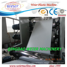400 600mm PVC Fuiniture Edge Band Production Machine with High Output