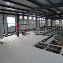 Tablero reforzado de alta resistencia del cemento de la fibra para el piso