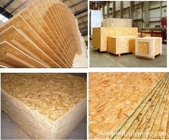 Furniture Grade Osb Exterior Construction Grade Osb Board In China